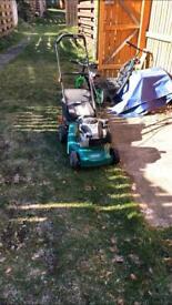 Lawnmower, strimmer, hedge trimmer, log splitter etc.