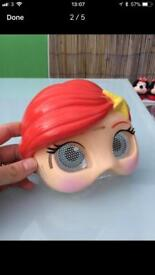 Princess Ariel swim mask