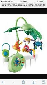Fisher price rainforest friends mobile