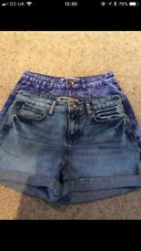 UK Size 10 MOM shorts!! £5 each or both for £8!