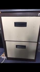 Beige Bisley filing cabinet