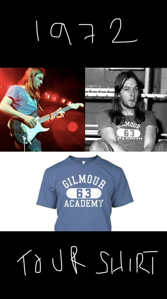 Pink Floyd Gilmour T Shirt