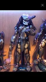 Hot toys sideshow Scar predator