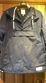 Joules Mens Pullover Wax Jacket - Size Large