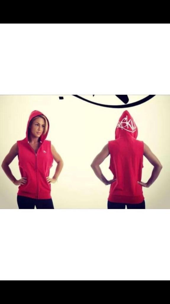 9e0c3216c Joblot sleeveless gym hoodies pitbull design x20 | in Bradford, West ...