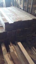 100x19x900mm treated fence slats