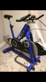 Commercial Blue Pulse Spin Spinning Bike - Exercise Gym