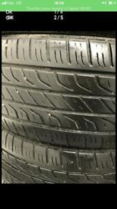 225-60-17 toyo été 4 pneu 5-6/32