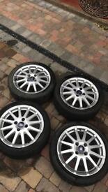 Zetec s wheels