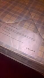 Two single divan beds for sale (John Lewis)
