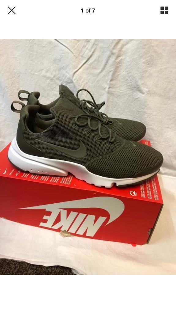 351b77354273 Nike presto fly olive green size 9 new