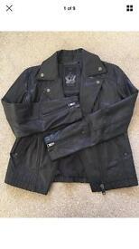 Women's Diesel leather jacket