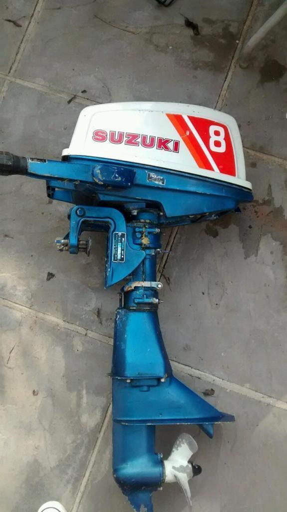 Suzuki 8hp 4 stroke outboard motor in notting hill for Best 8 hp outboard motor