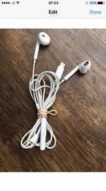 iPhone 7 head phones handsfree set