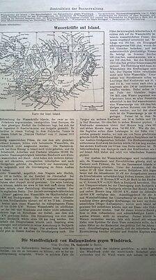 1919 70 Island Wasserkraft