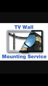 Tv wall mounting bracket mounts
