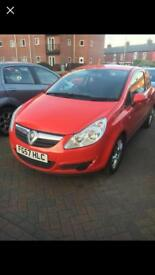 CORSA 1.2 - ONLY 60,000 MILES - 57 PLATE - SCRATCHED - OPEN TO OFFERS