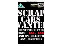Scrap cars wanted, scrap cars, cars bought for cash, cars wanted,