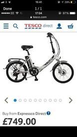Electric fold up bike ((CHEAP))
