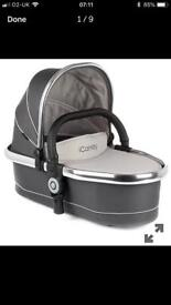 I Candy Peach Truffle 2 Blossom Carrycot