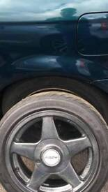 4 azev alloys and tyres 15 inch