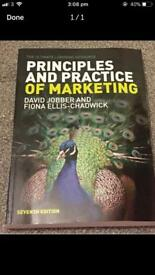 Principles and practice of marketing by David Jobber and Fiona Ellis-Chadwick