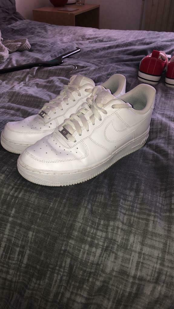 Nike Air Force 1s (White) | in Leicester, Leicestershire | Gumtree