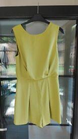 Ladies dress playsuit size 10