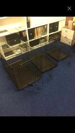 Medium and small dog cages