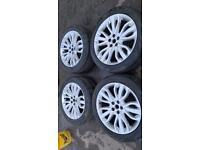 "21"" land Range Rover sport alloy wheels alloys rims Pirelli tyres vogue discovery defender 5x120"