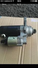 Starter motor golf mk5