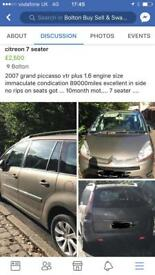 Citreon 7 seater