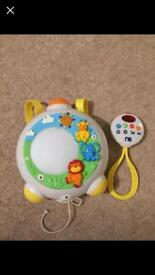 Musical light up cot mobile