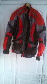 spada motor cycle jacket xl