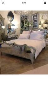 Fabulous Mirrored King Size Bed Frame NEW