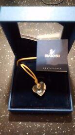Swarovski Heart Crystal Necklace