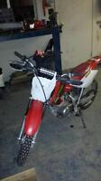 2001 cr 80 honda dirtbike