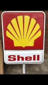 Shell fuel sign LARGE