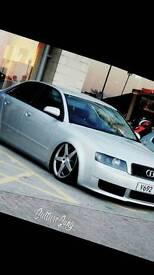 Audi a4 on air ride