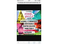2 tickets to Axwell & Ingrosso at Victoria Park - Sunday 28th May
