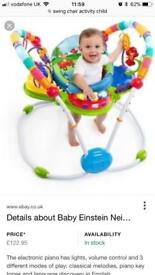 Baby Einstein swing bouncer