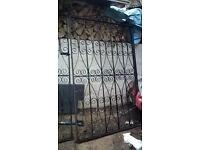 Large wrought iron gates for sale BARGIN!!!