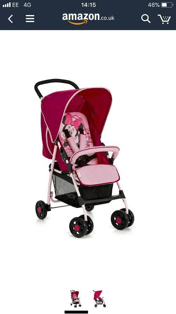 New in pack Disney baby minnie mouse baby sport push chair