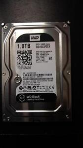 Disque dur interne de bureau 3,5 po 1 To 7200 tr/min SATA de Western Digital (WD1003FZEX)