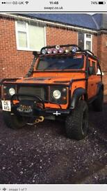 Land Rover Defender 110 Crew Cab. 300 tdi. Monster Truck BEAST Px or swap