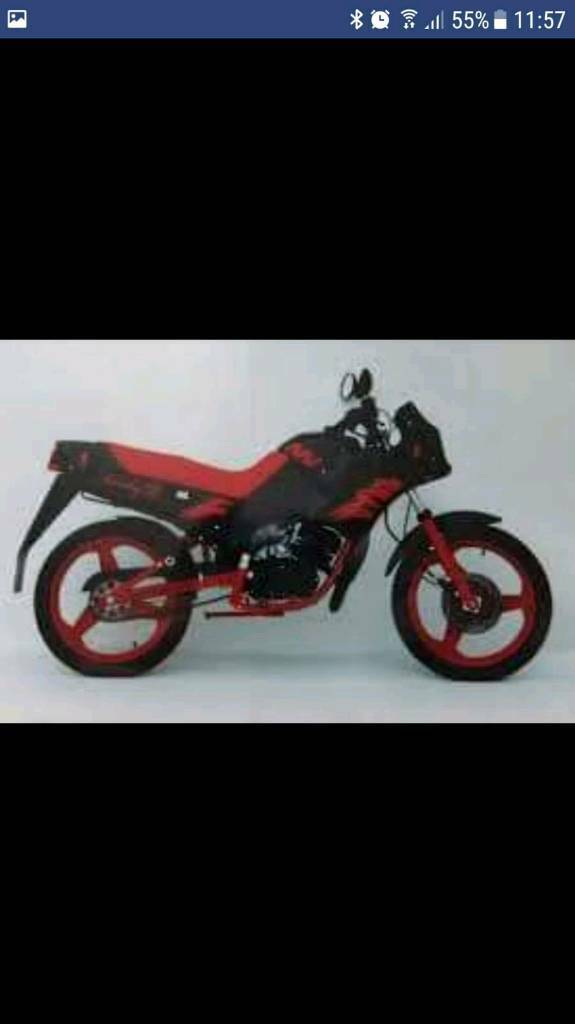 Rare czecho-slovakian 50cc motorbike(restoration project)