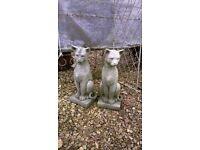 Statue Stone - Concrete Cat/s
