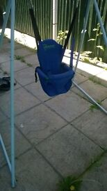 Kids Active swing with baby/toddler seat, good condition