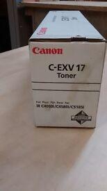 Genuine Canon C-EXV17 toners