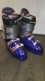 Men's Race Ski Boots by Lange in mint condition